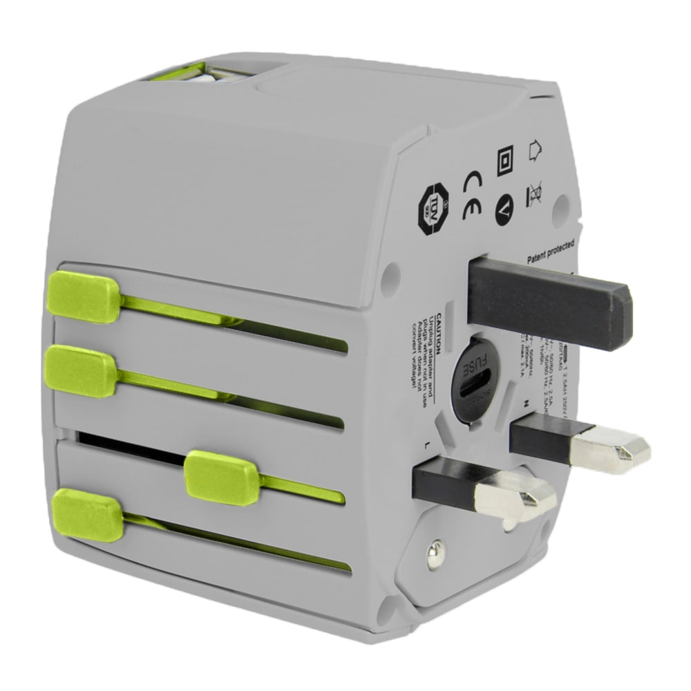 EAGLE CREEK USB Universal Travel Adapter - NO COLOR