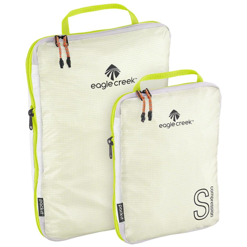 EAGLE CREEK Pack-It Specter Tech™ Compression Cube Set S/M - WHITE/STROBE