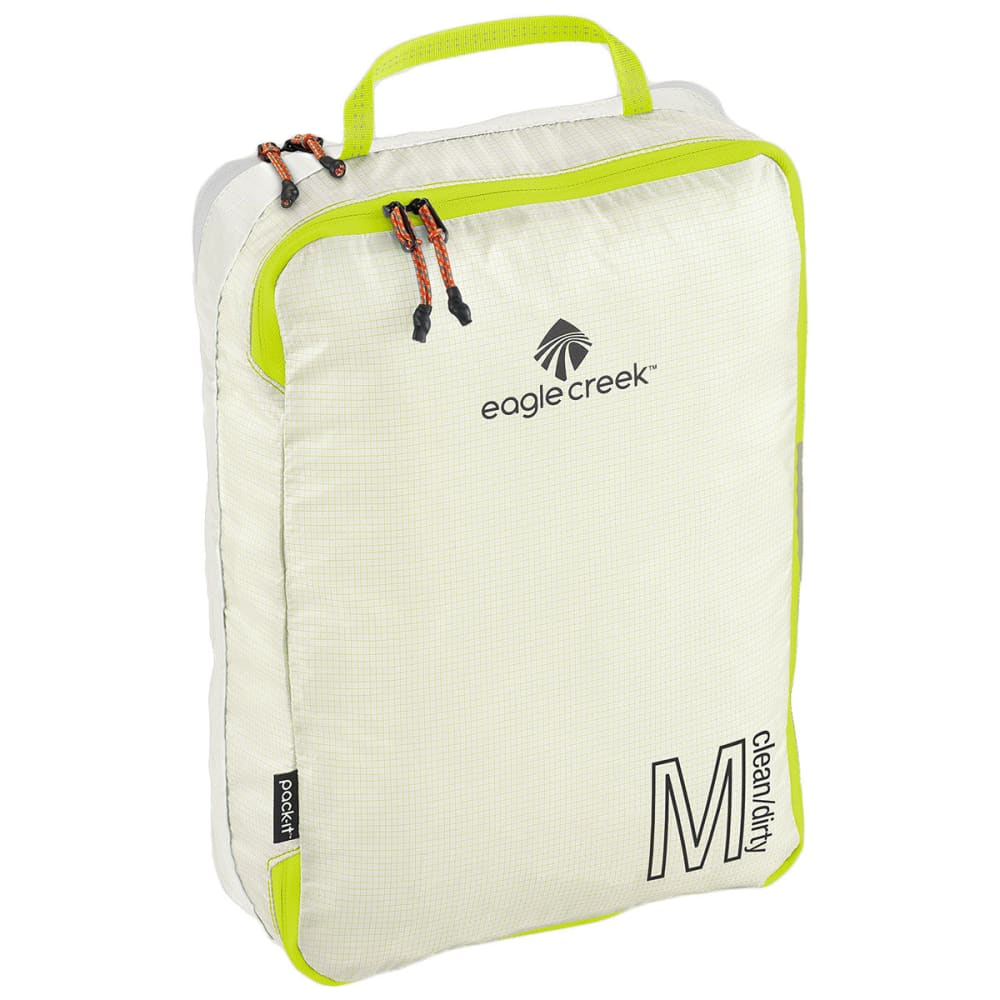 EAGLE CREEK Pack-It Specter Tech™ Clean/Dirty Cube M - WHITE/STROBE