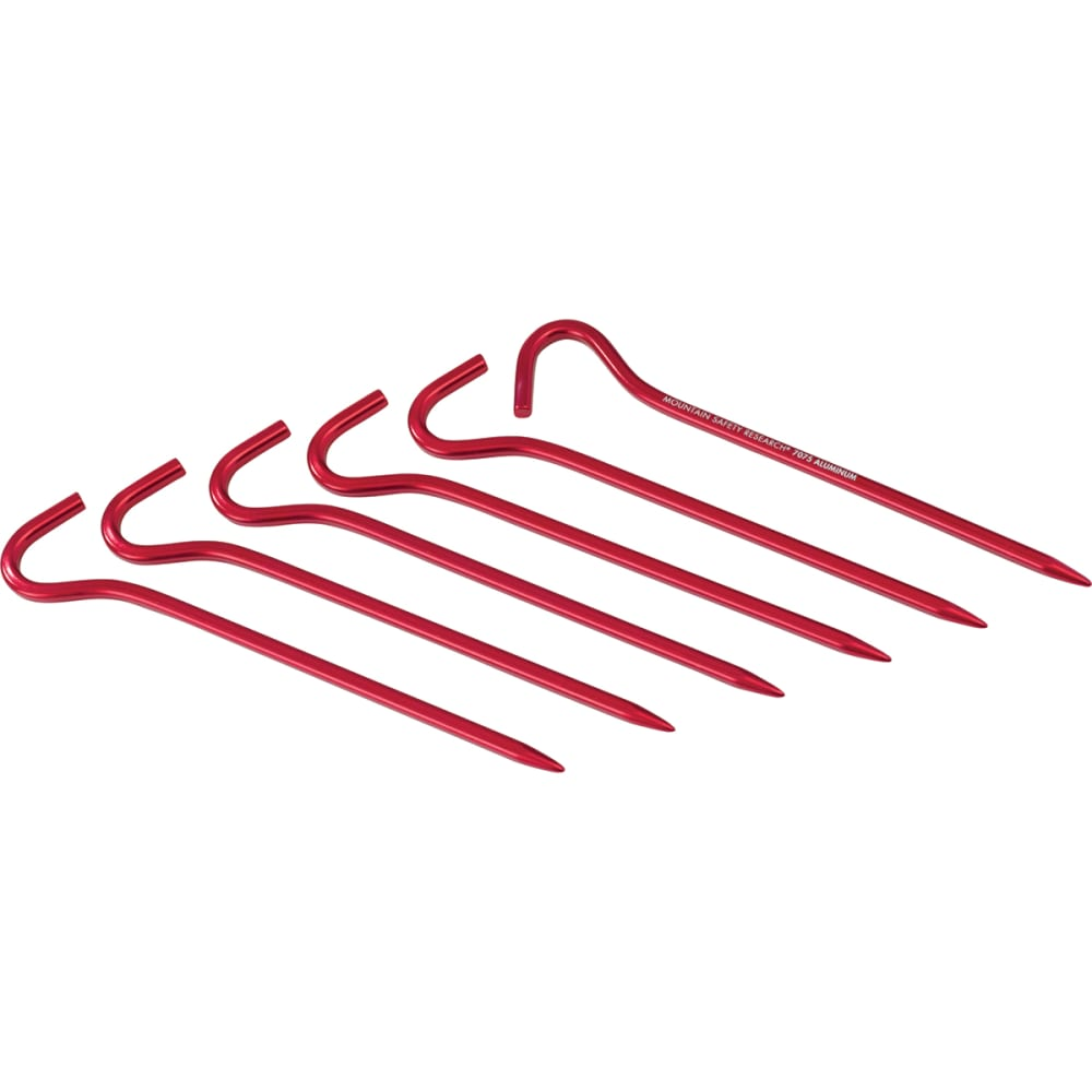 MSR Hook Tent Stake Kit - RED
