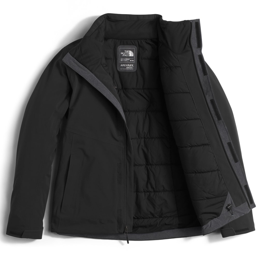 THE NORTH FACE Women's Apex Flex GTX Insulated Jacket - JK3-TNF BLACK