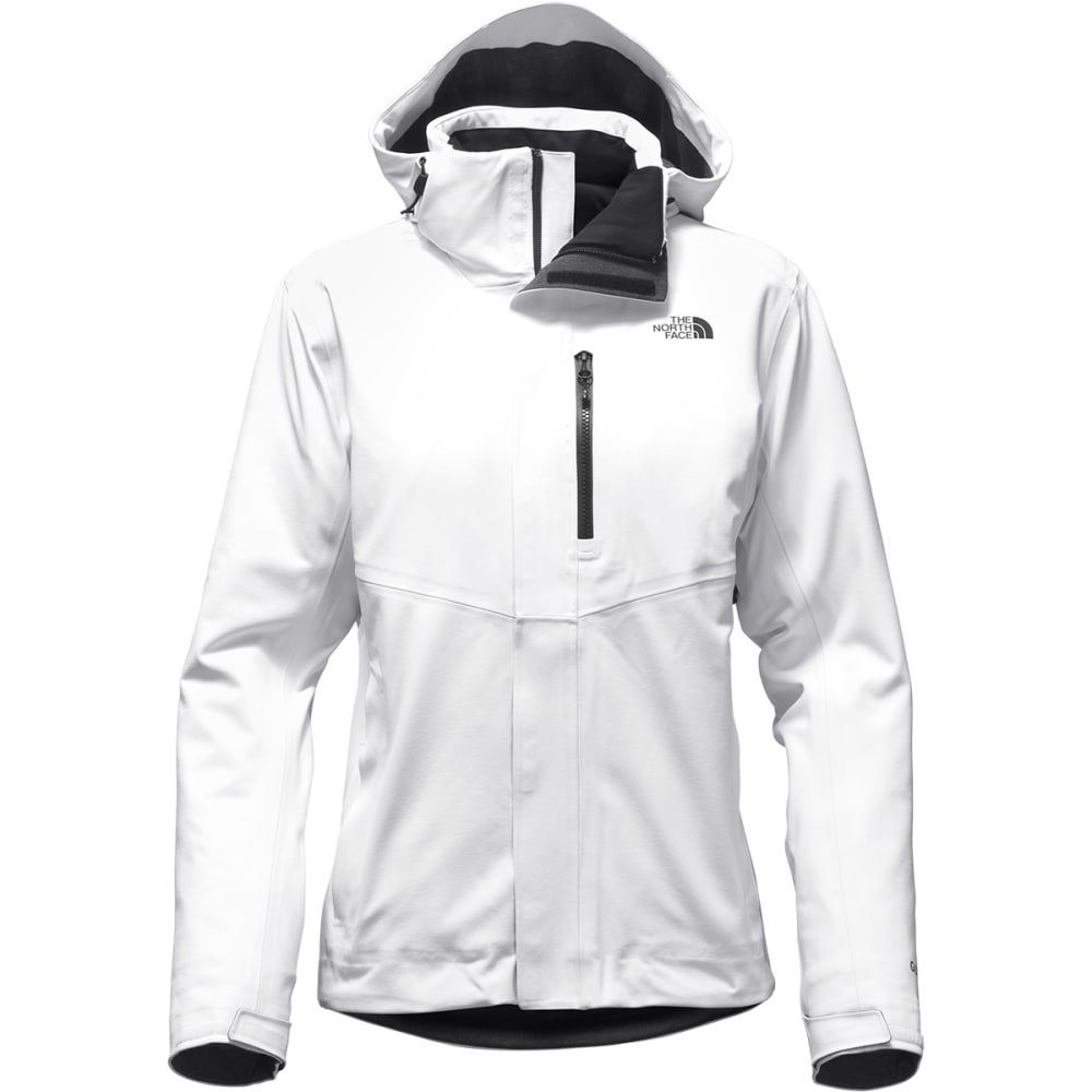 THE NORTH FACE Women's Apex Flex GTX Insulated Jacket - FN4-TNF WHITE