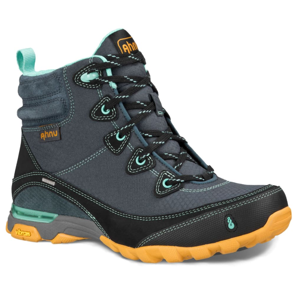 AHNU Womens Sugarpine Waterproof Mid Hiking Boots, Dark