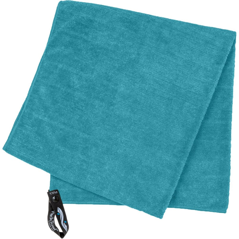 PACKTOWL Luxe Towel, Face - AQUAMARINE/09847