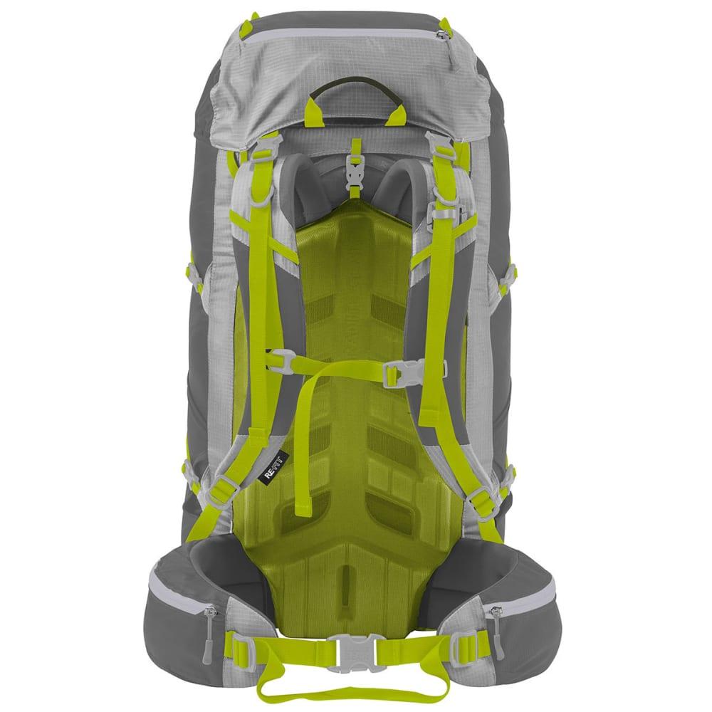 GRANITE GEAR Lutsen 35 Pack, LG/XL - FLINT/CHRM/NEOLIME