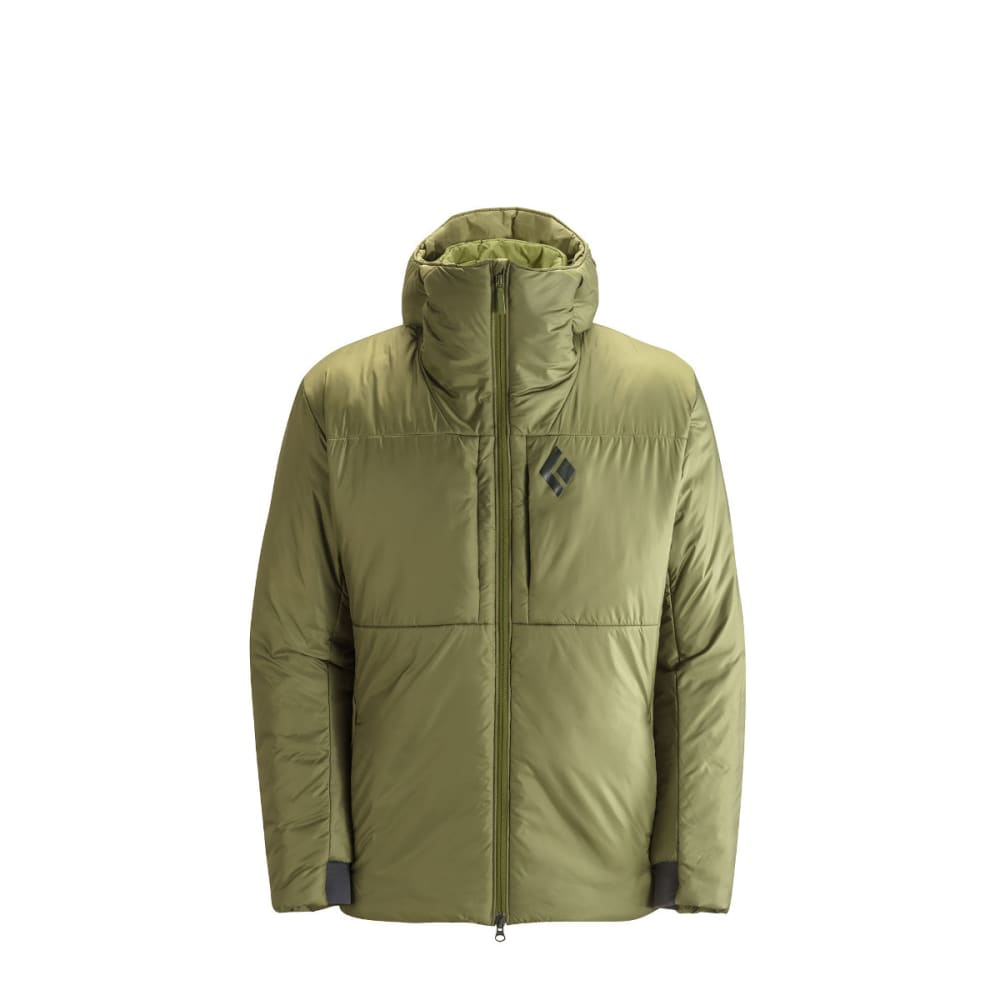 BLACK DIAMOND Men's Stance Belay Parka - BURNT OLIVE