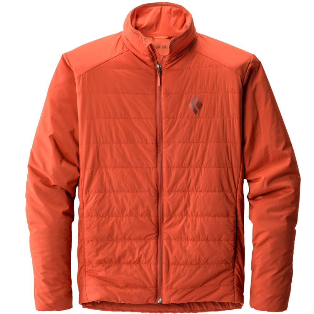BLACK DIAMOND Men's First Light Jacket - RUST