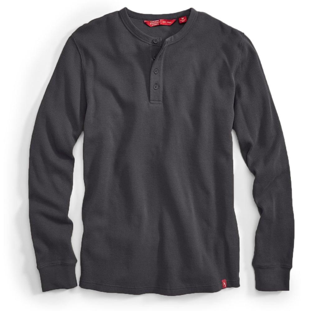 EMS® Men's Rowan Waffle Henley Long-Sleeve Shirt - FORGED IRON
