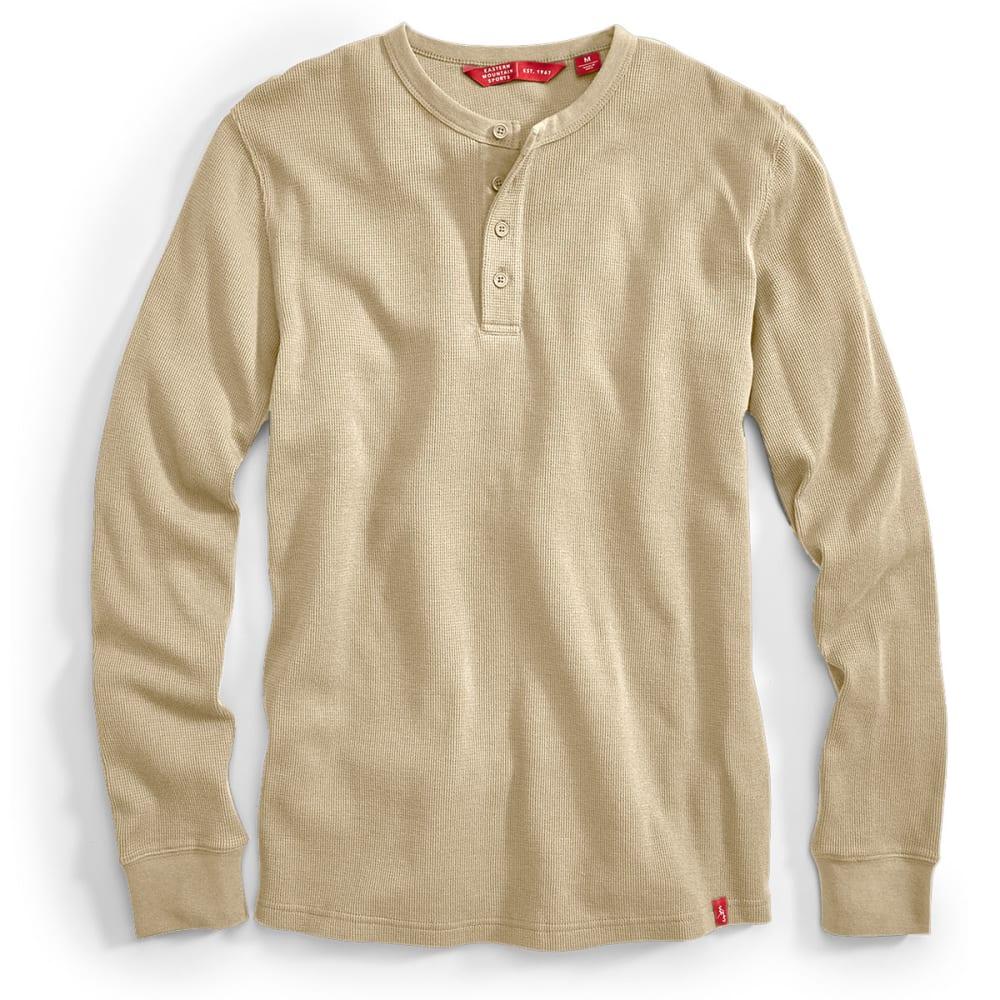 EMS® Men's Rowan Waffle Henley Long-Sleeve Shirt - FOSSIL
