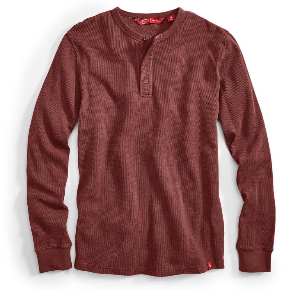 EMS® Men's Rowan Waffle Henley Long-Sleeve Shirt - ANDORRA