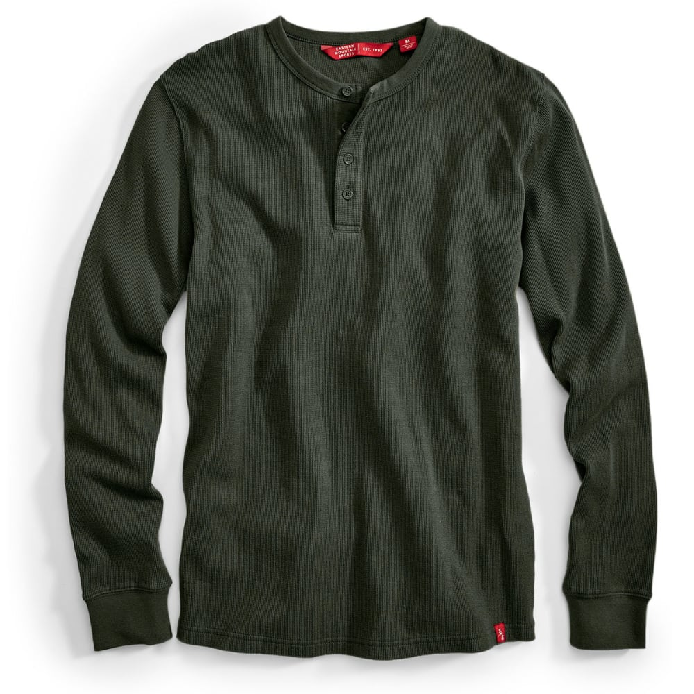 EMS® Men's Rowan Waffle Henley Long-Sleeve Shirt - ROSIN