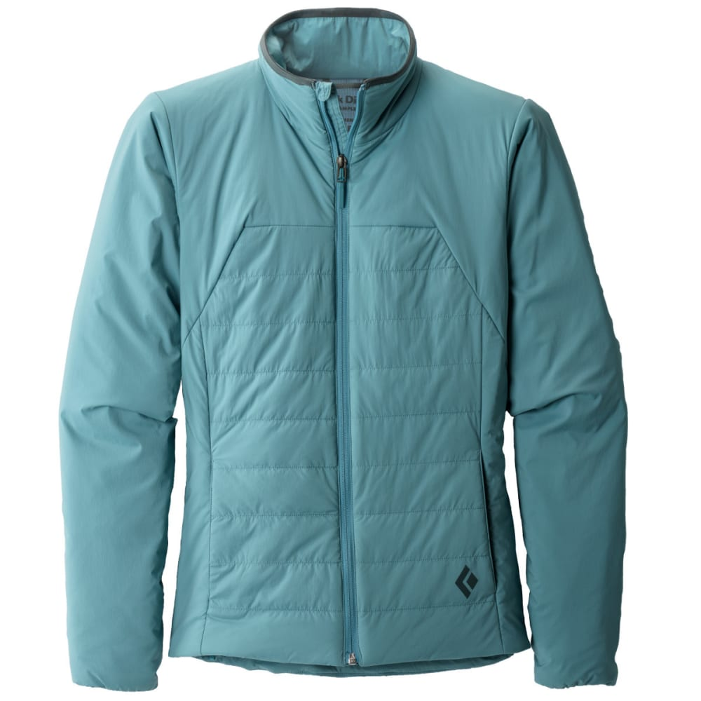Black Diamond Women's First Light Jacket - Blue HZ9K