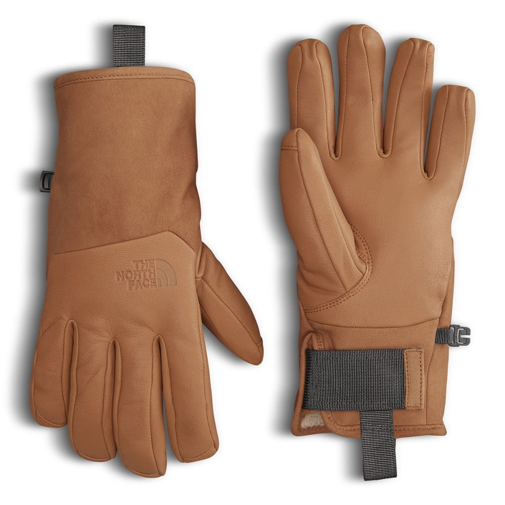 THE NORTH FACE Leather IL Solo Gloves - TIMBER TAN-VC7
