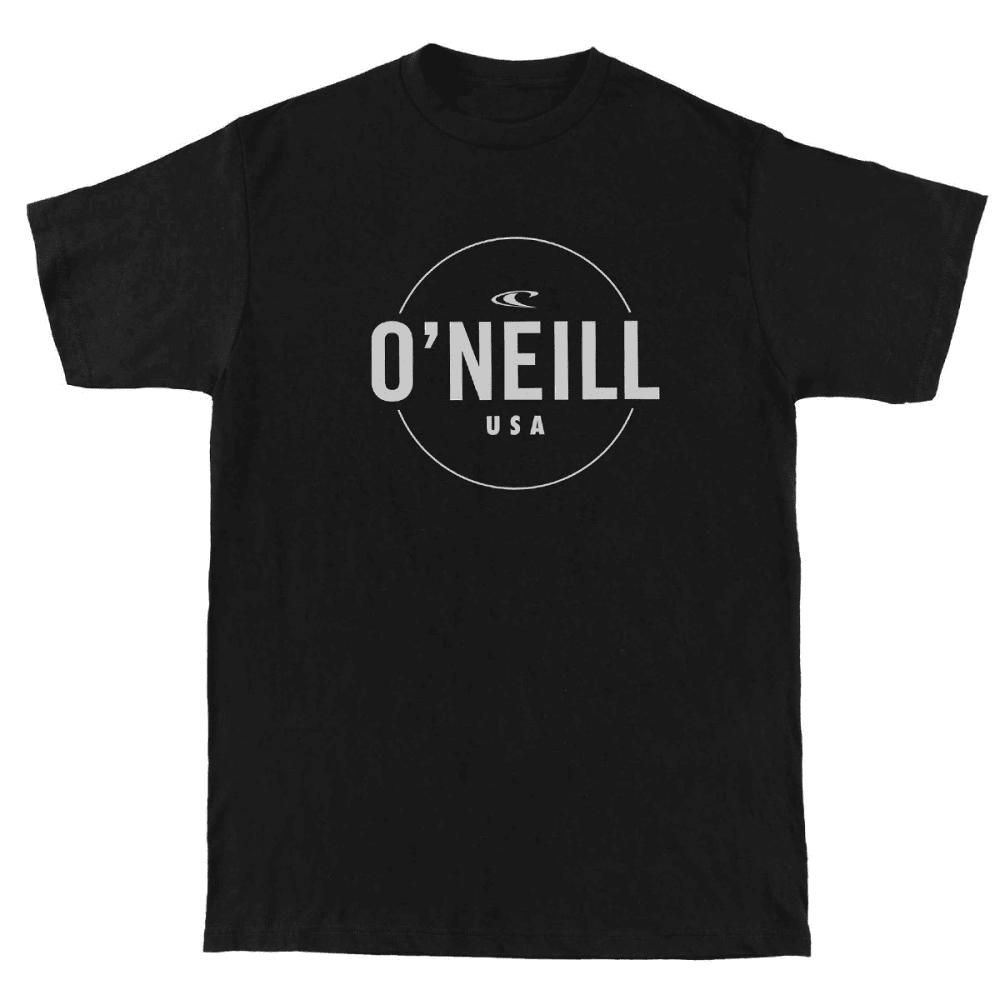 O'NEILL Men's Agent Tee - HBK- HEATHER BLACK