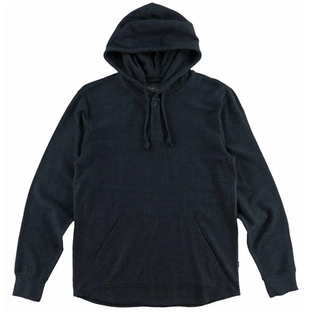 O'NEILL Guys' Kap Hooded Henley - NVY-NAVY