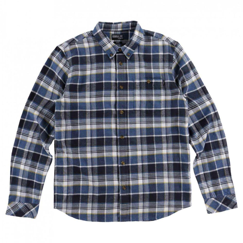 O'NEILL Guys' Redmond Flannel Long-Sleeve Shirt - OCN-OCEAN