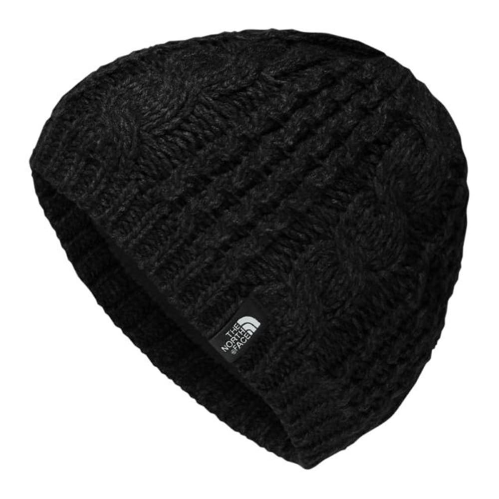 THE NORTH FACE Women's Cable Minna Beanie - TNF BLACK-JK3