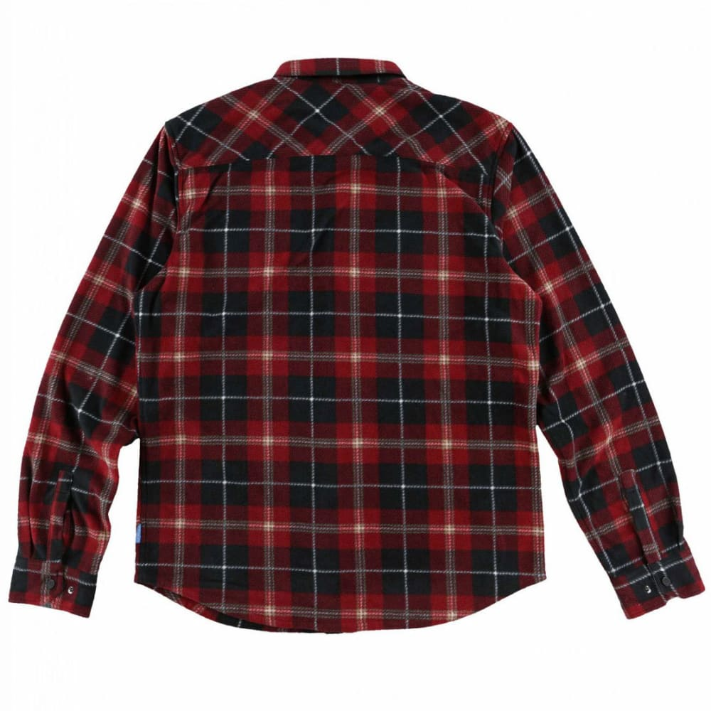 O'NEILL Guys' Glacier Plaid Long-Sleeve Shirt - BLK-BLACK