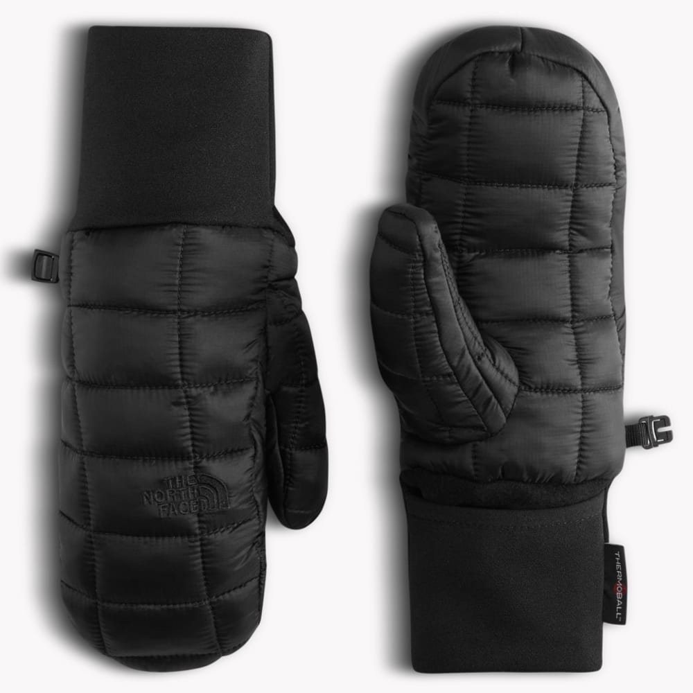 THE NORTH FACE Youth Thermoball Mitts - TNF BLACK-JK3