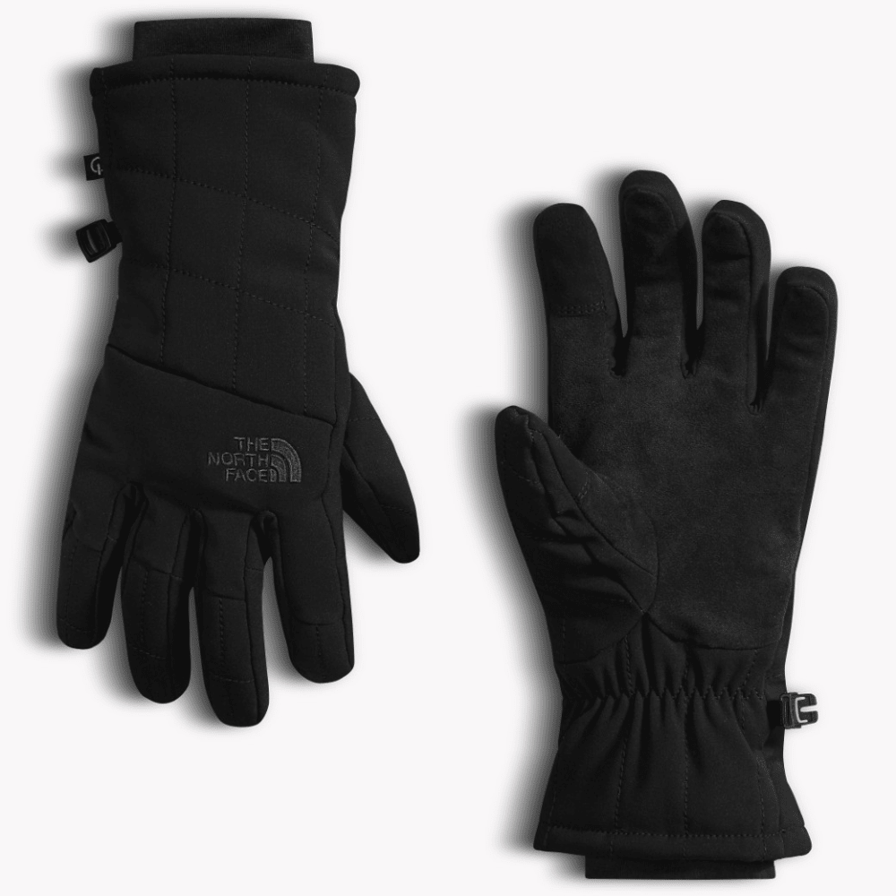 THE NORTH FACE Women's Pseudo Insulated Gloves - TNF BLACK-JK3
