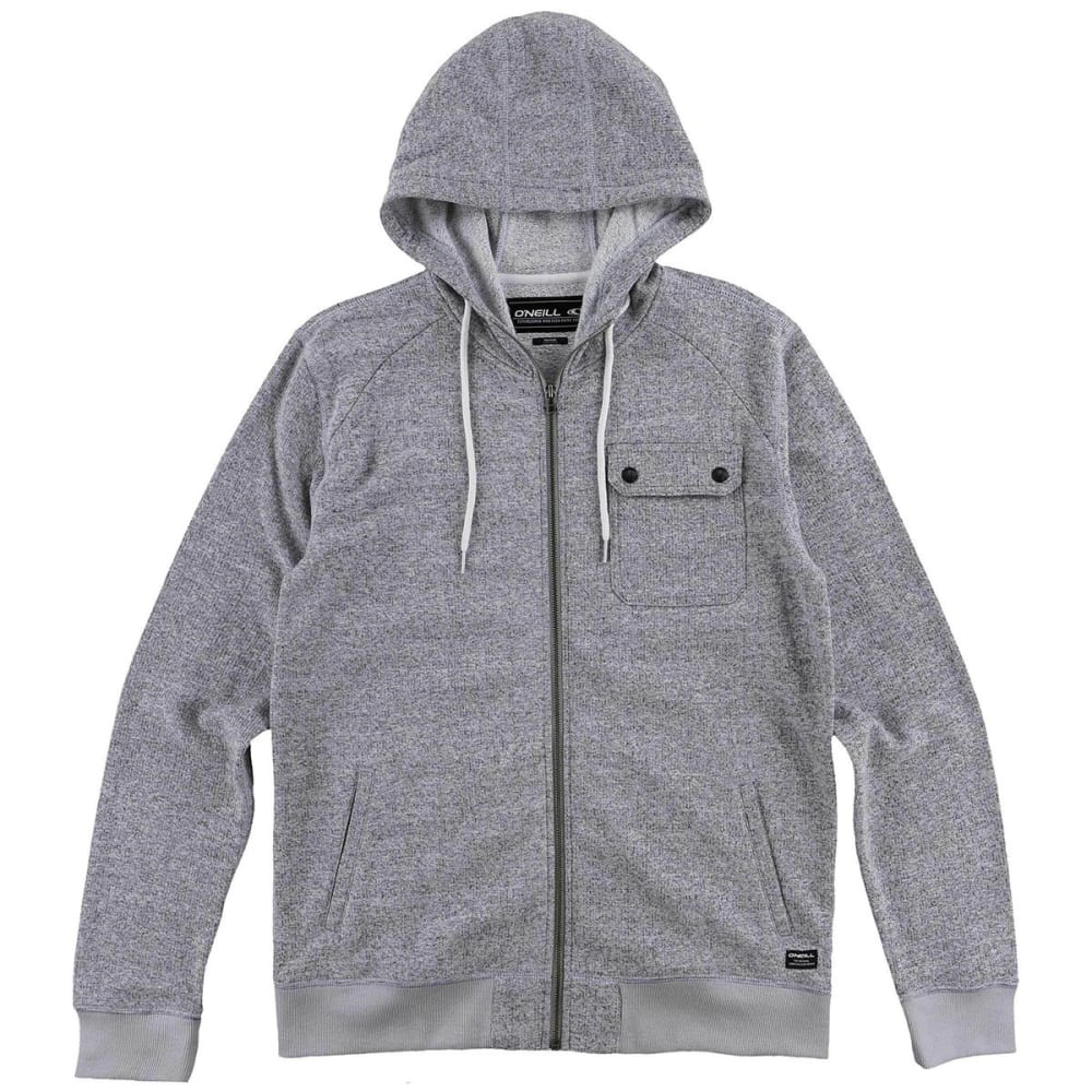 O'NEILL Guys' Imperial Zip Hoodie - GRY-GREY