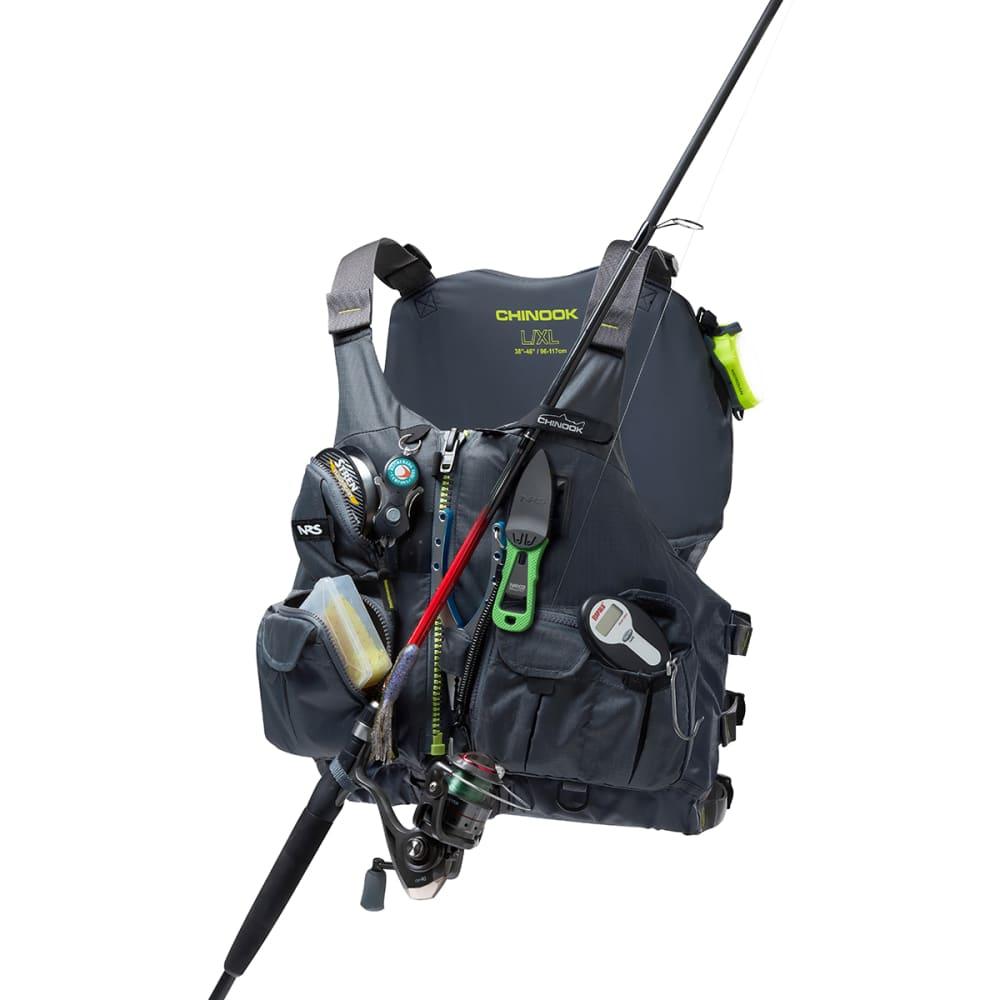 NRS Chinook Fishing PFD - CHARCOAL