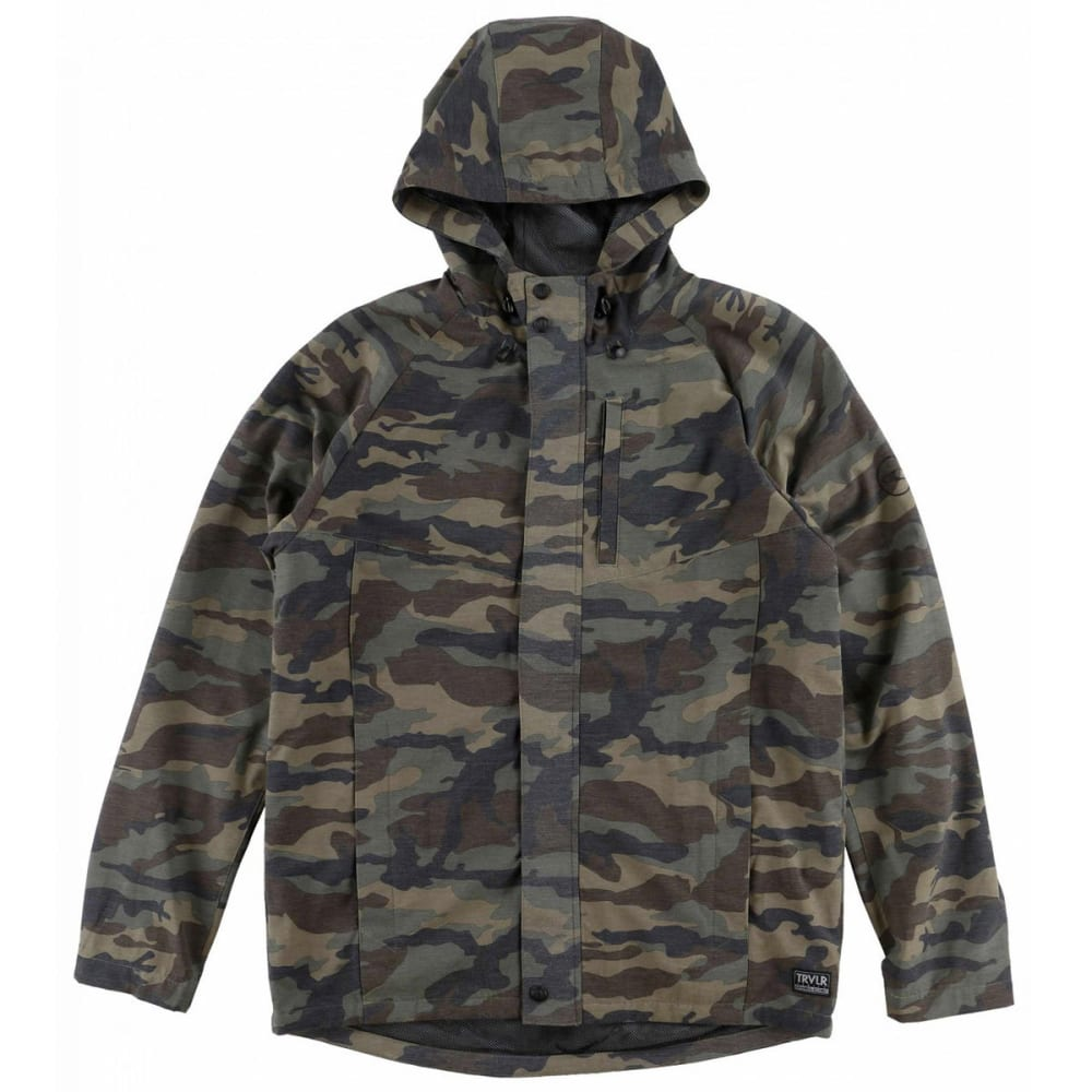 O'NEILL Guys' Traveler Dawn Patrol Jacket - CAM-CAMO