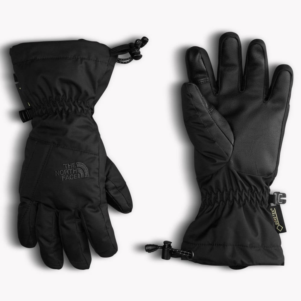 THE NORTH FACE Youth Montana Gore-Tex Gloves - TNF BLACK-JK3