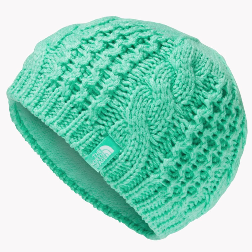 THE NORTH FACE Youth Cable Minna Beanie - BERMUDA GREEN-RWW