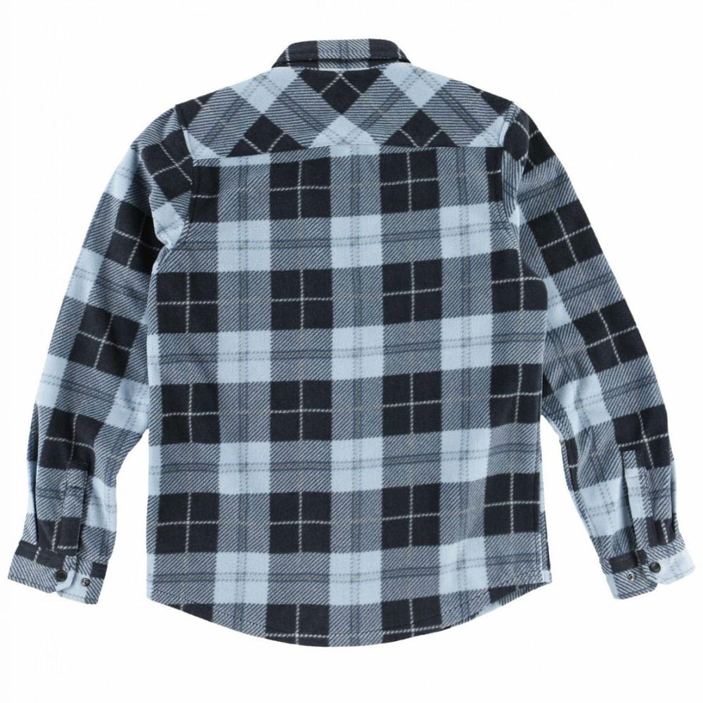 O'NEILL Boys' Glacier Plaid Long-Sleeve Shirt - NVY-NAVY