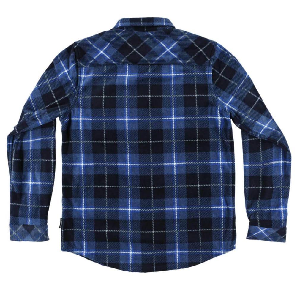 O'NEILL Boys' Glacier Plaid Long-Sleeve Shirt - OCN-GLACIER PLAID