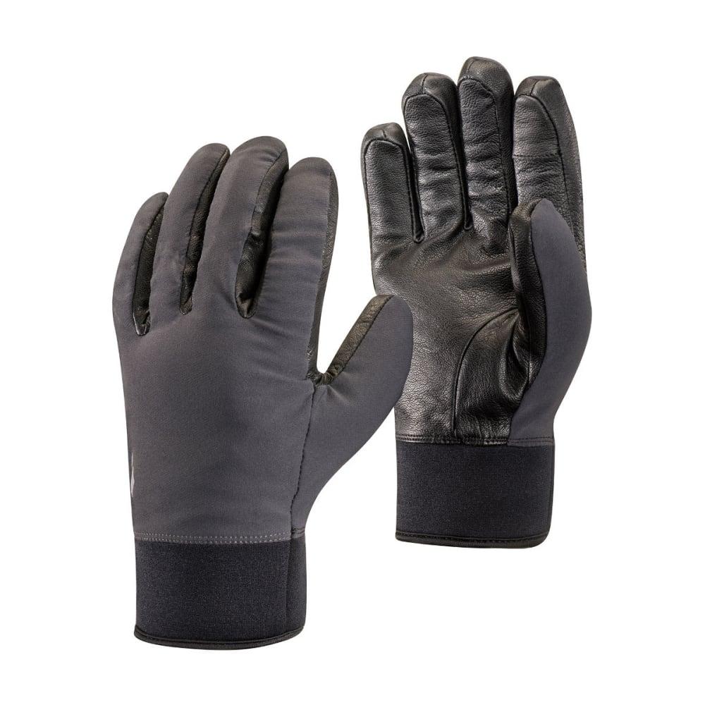 BLACK DIAMOND HeavyWeight Softshell Gloves, Smoke XS