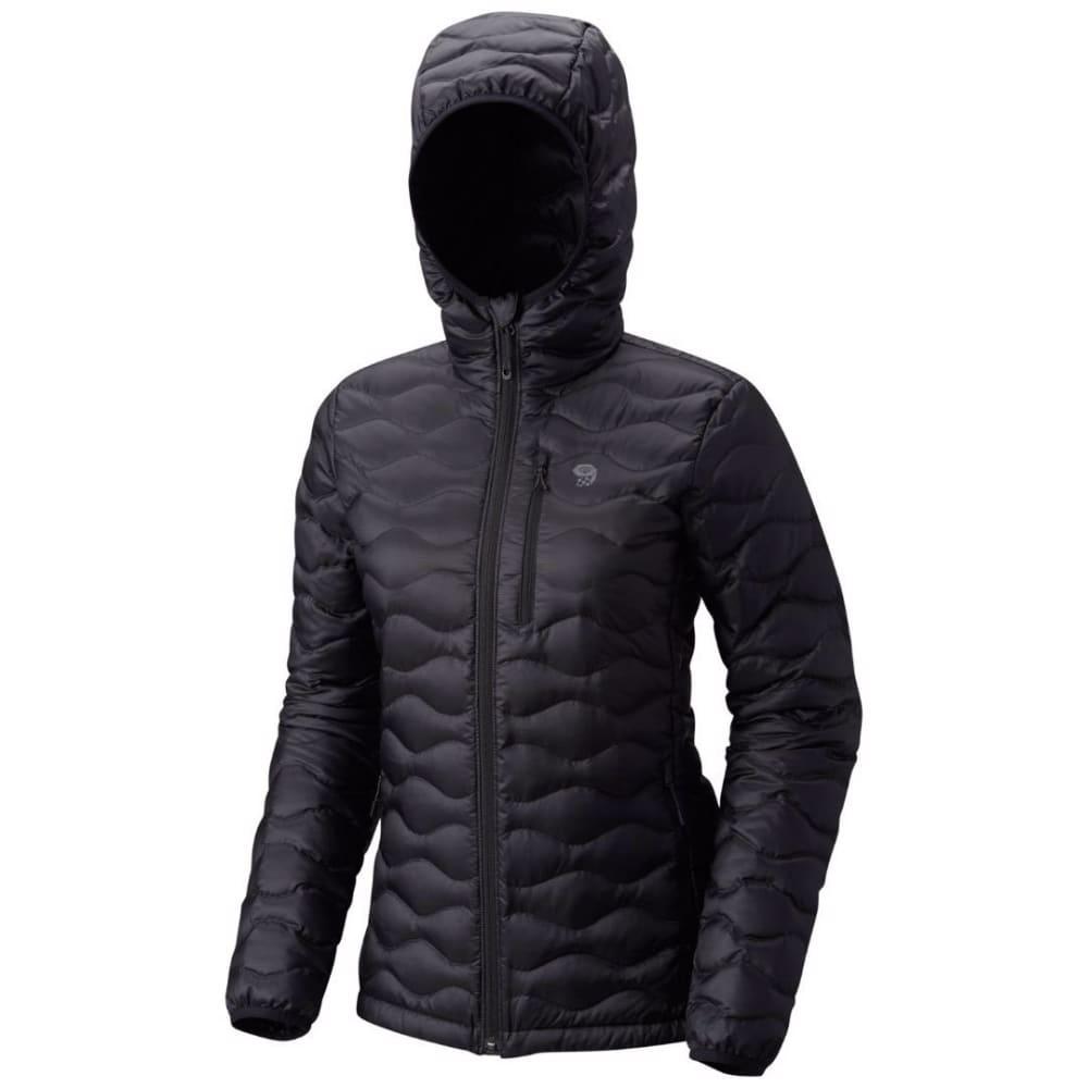 MOUNTAIN HARDWEAR Women's Nitrous Hooded Down Jacket - 010-BLACK