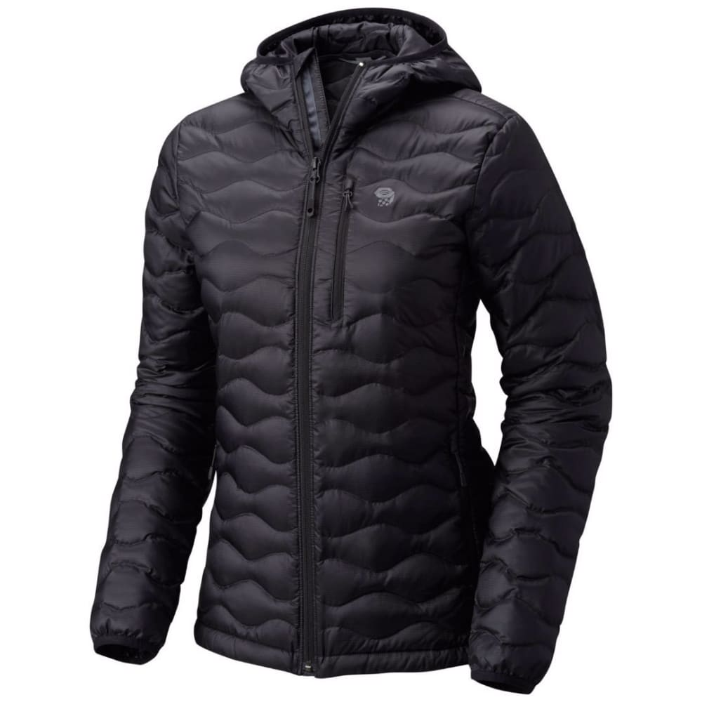 MOUNTAIN HARDWEAR Women's Nitrous™ Hooded Down Jacket - 010-BLACK