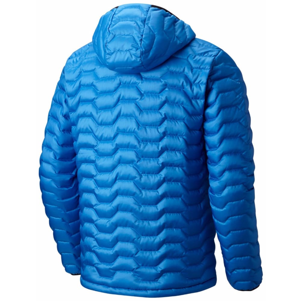 Mountain Hardwear Men's Nitrous Hooded Down Jacket - 438-ALTITUDE BLUE