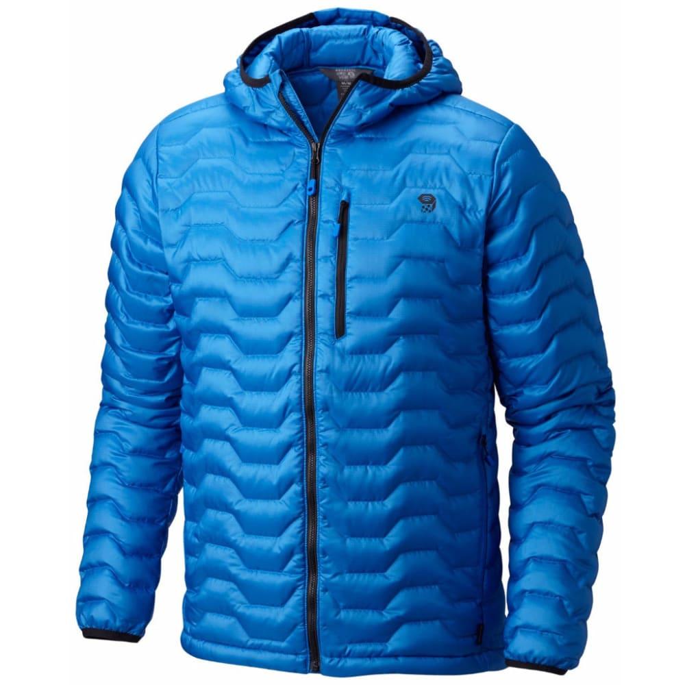 Mountain Hardwear Men's Nitrous Hooded Down Jacket - 438-ALTITUDE BLUE