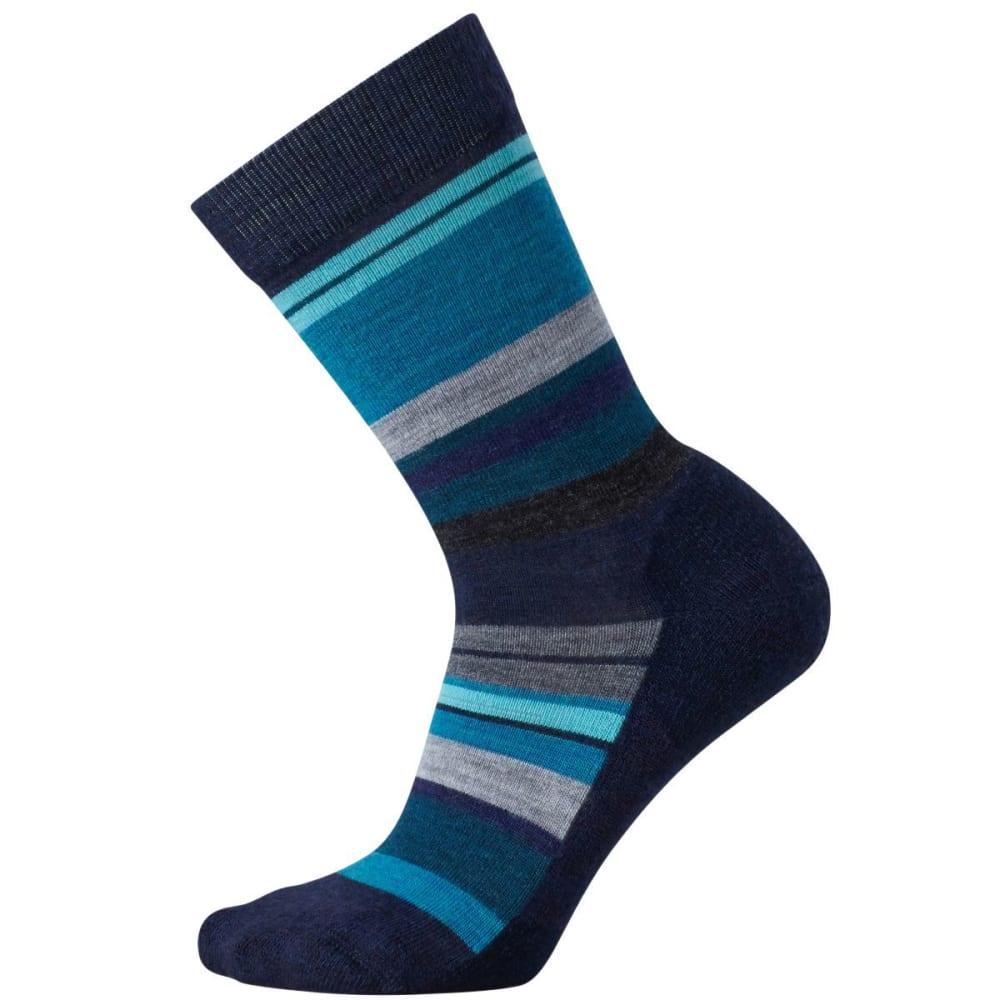 SMARTWOOL Women's Saturnsphere Socks - DEEP NAVY