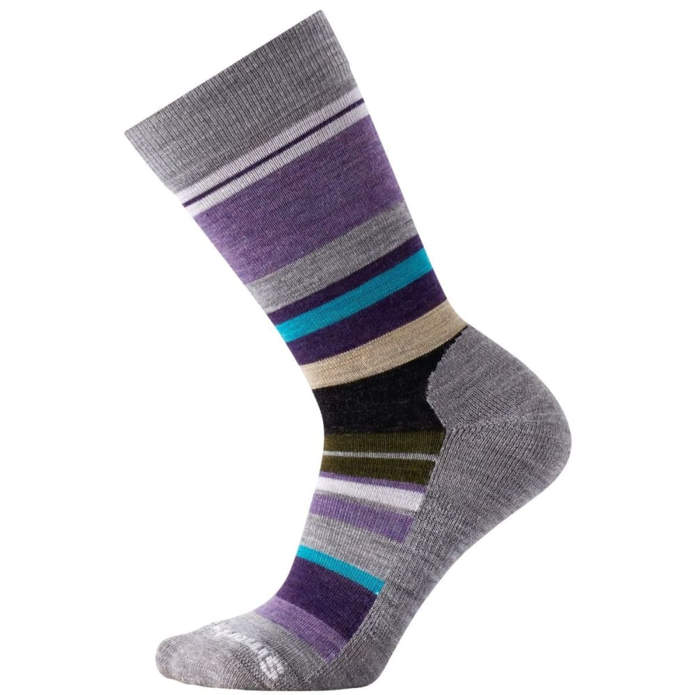 SMARTWOOL Women's Saturnsphere Socks - LT GRY HTHR