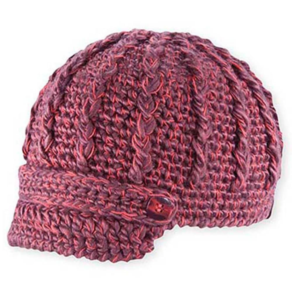 PISTIL Women's Clara Knit Brim Hat - RAISIN