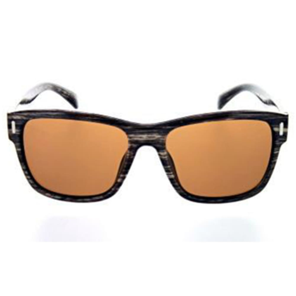 ONE BY OPTIC NERVE Kingston Polarized Sunglasses, Shiny Driftwood - SHINY DRIFTWOOD