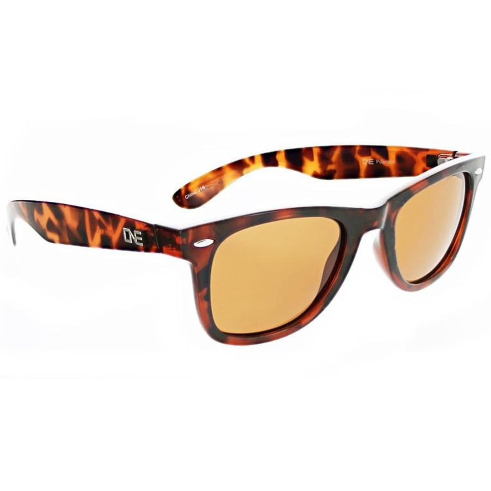 ONE BY OPTIC NERVE Women's Dylan Polarized Sunglasses - BROWN