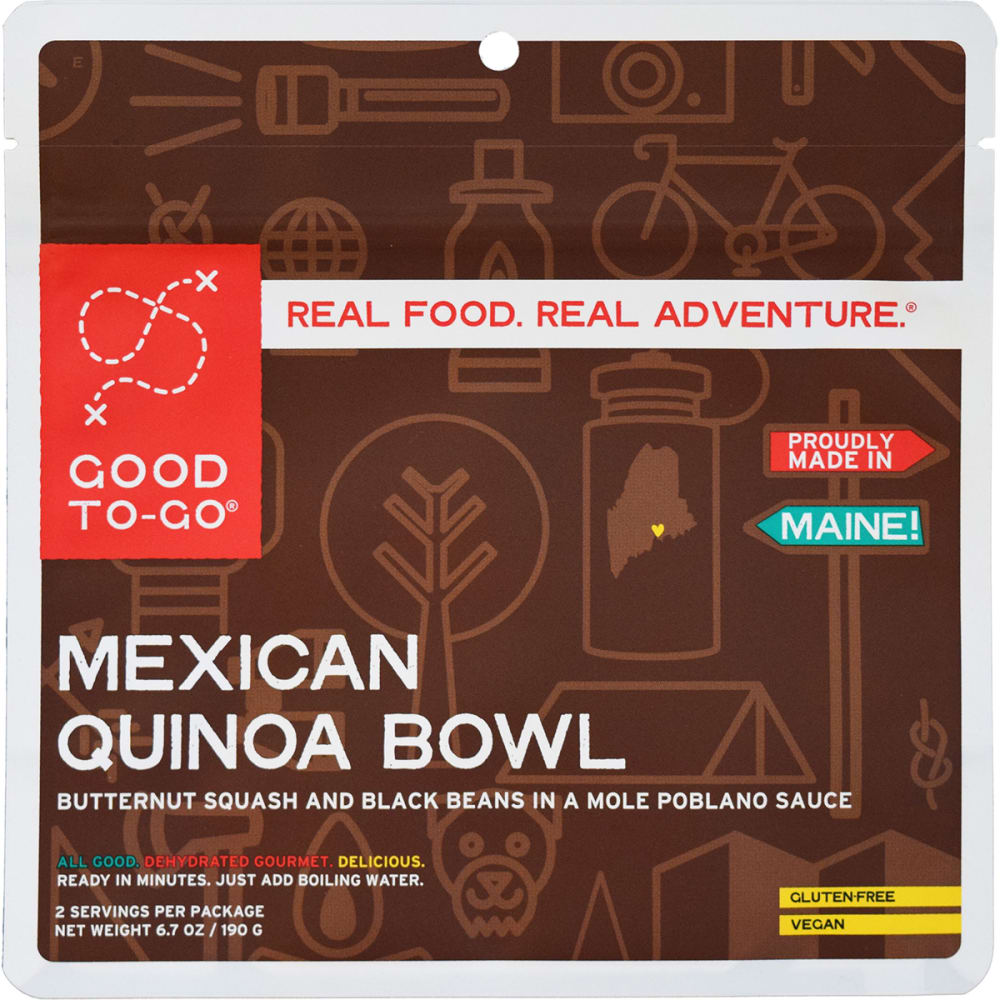 GOOD TO-GO Mexican Quinoa Bowl, Double Serving - NO COLOR