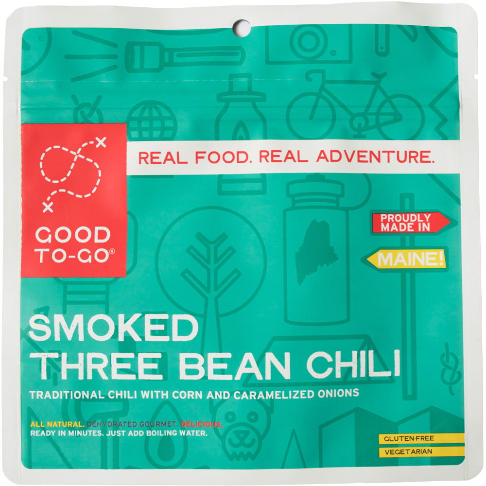 GOOD TO-GO Smoked 3 Bean Chili Single Packet - NO COLOR