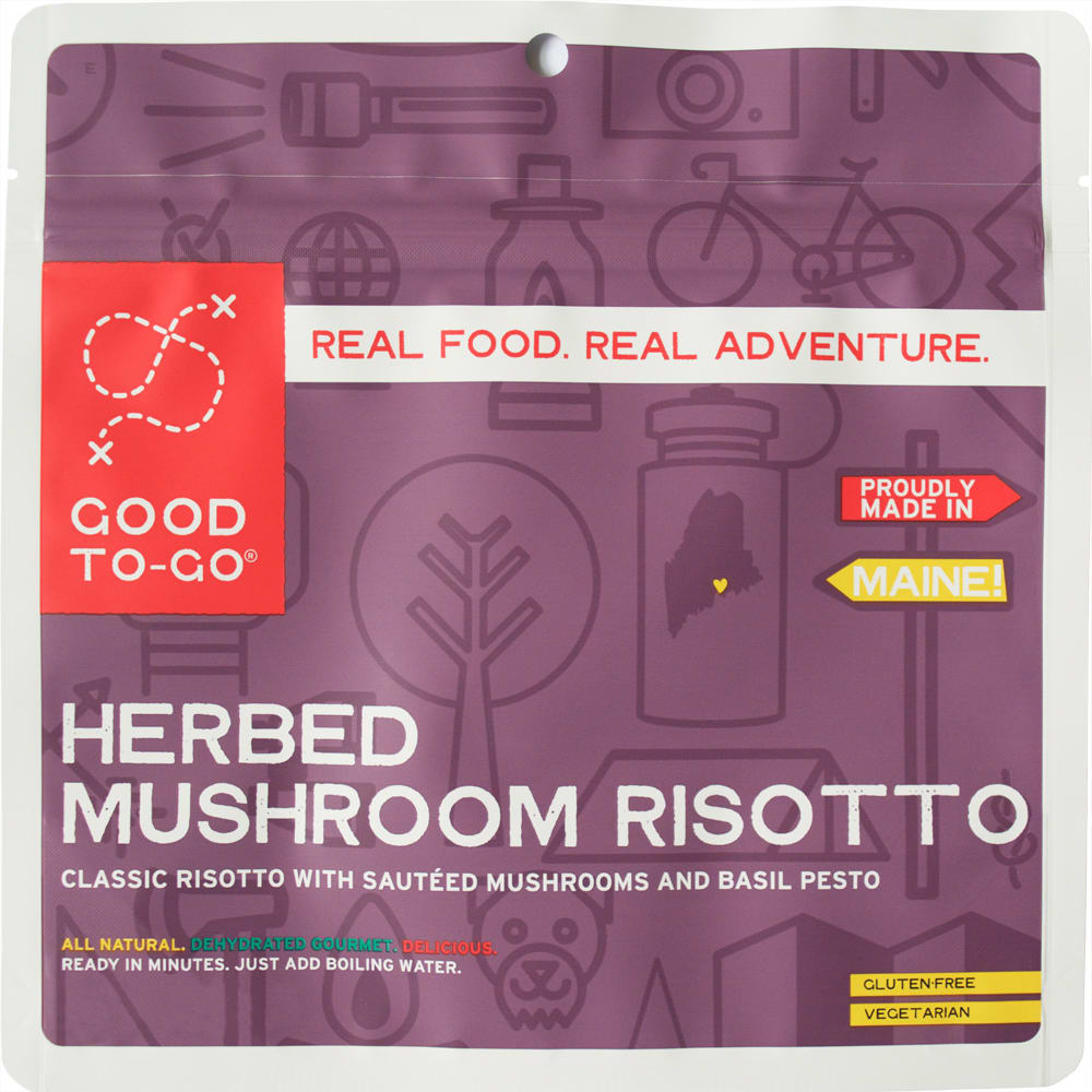 GOOD TO-GO Herbed Mushroom Risotto, Single Packet - NO COLOR