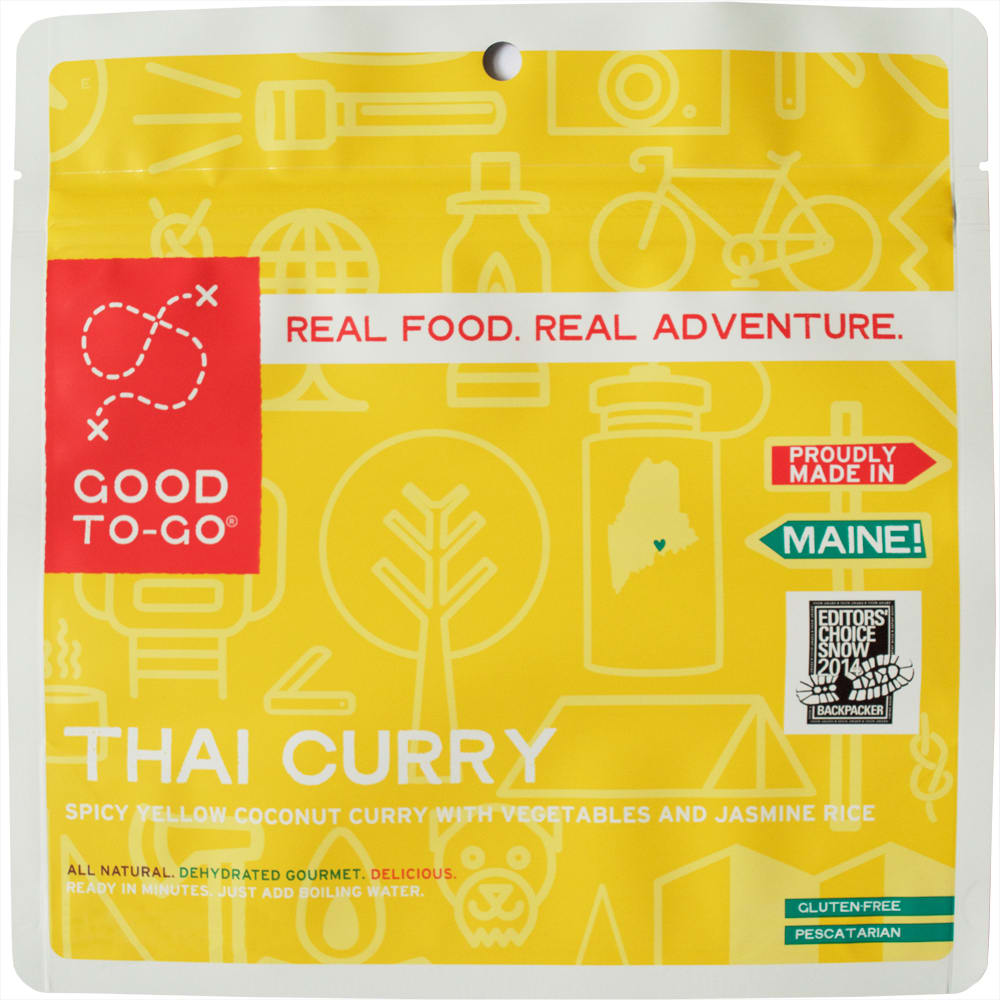 GOOD TO-GO Thai Curry Single Packet - NO COLOR