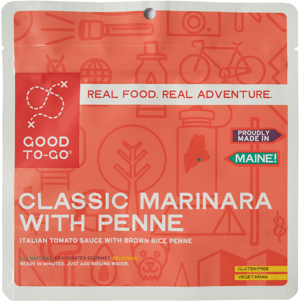 GOOD TO-GO Classic Marinara With Pasta Single Packet - NO COLOR
