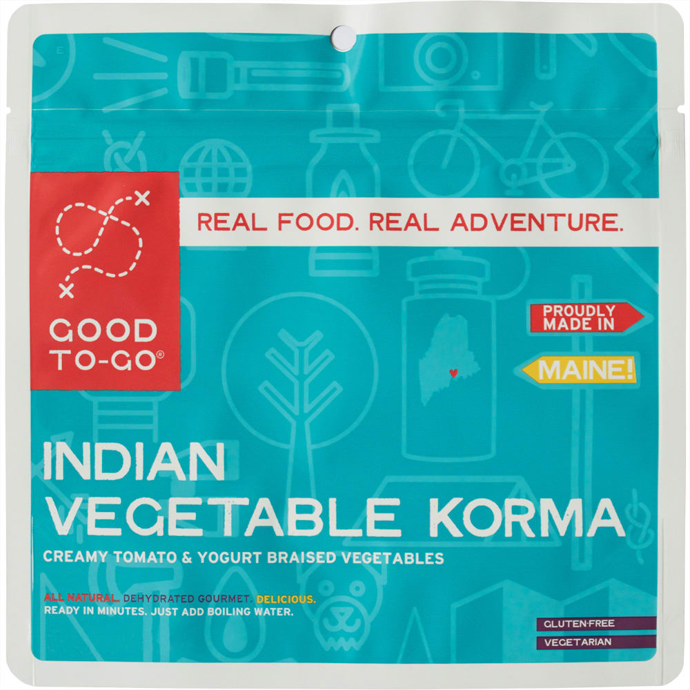 GOOD TO-GO Indian Vegetable Korma Single Packet - NO COLOR