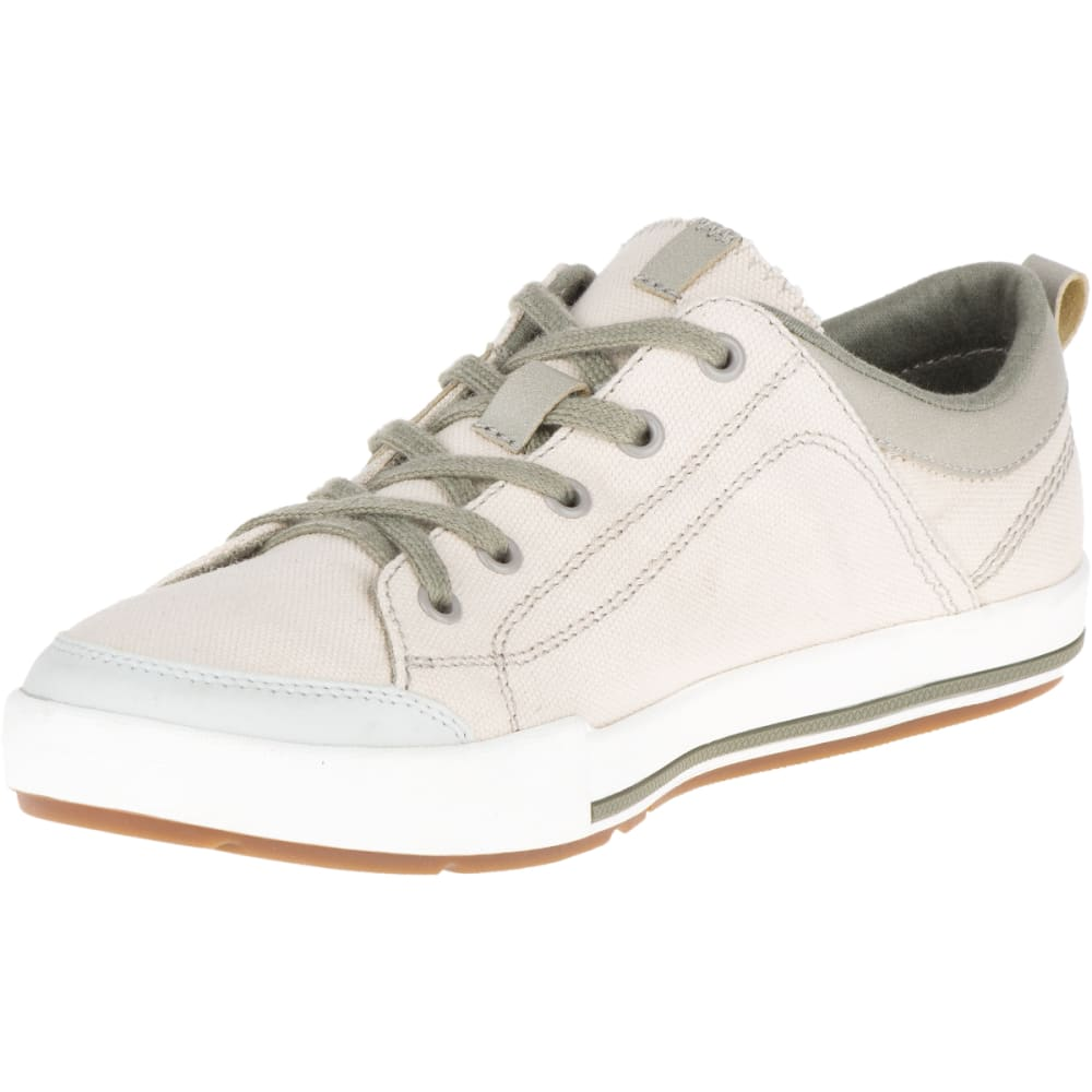 MERRELL Women's Rant Canvas Sneakers, Whitecap Grey - WHITECAP GREY
