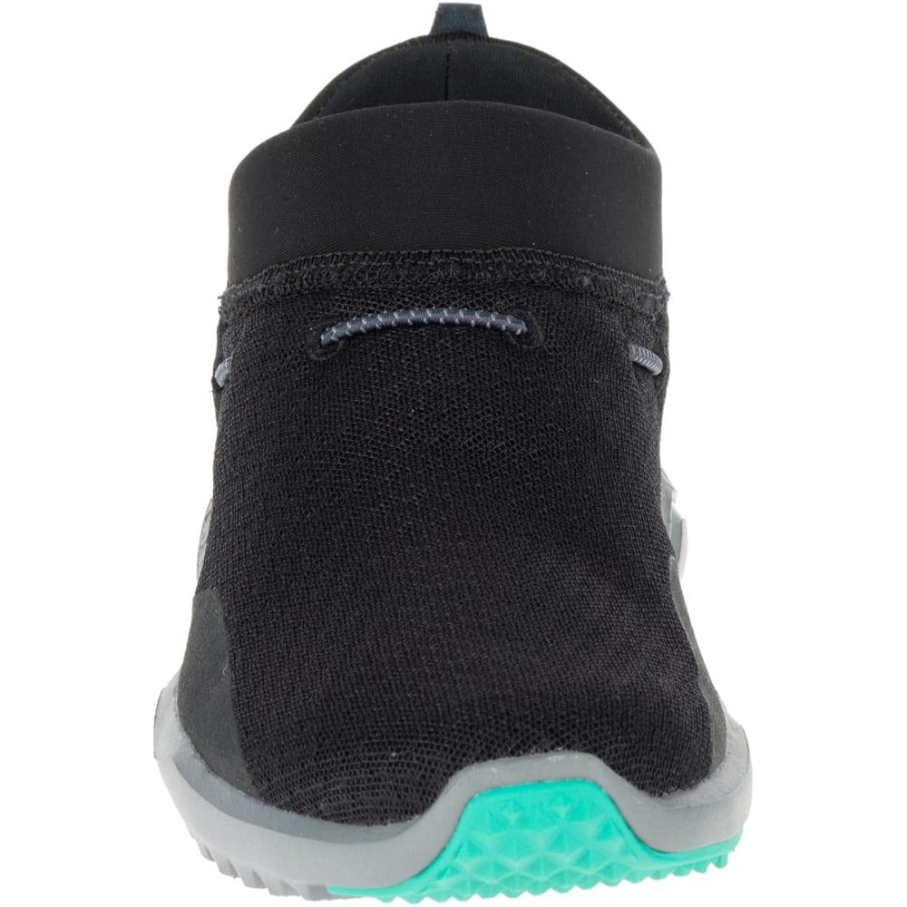 MERRELL Women's 1SIX8 Mesh Moc Casual Shoes, Black - BLACK