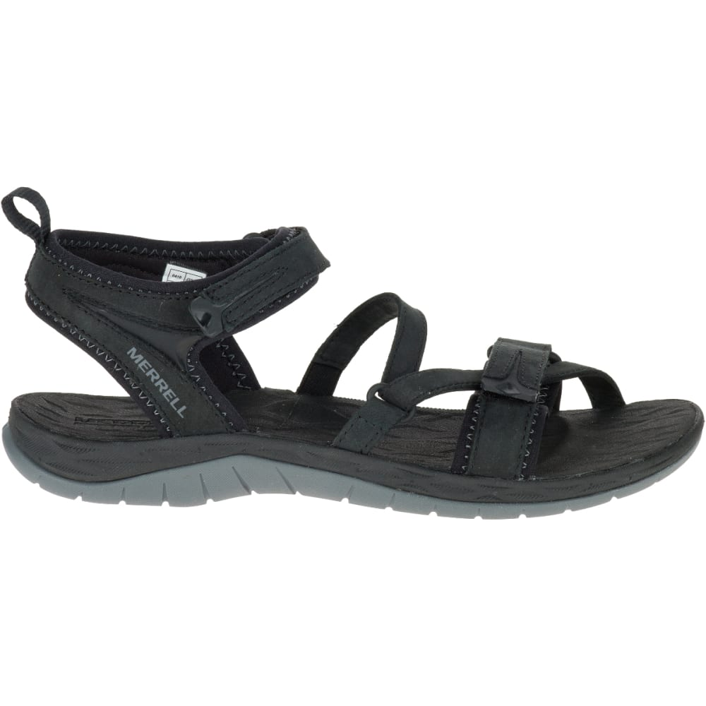 MERRELL Women's Siren Strap Q2 Sandals - BLACK